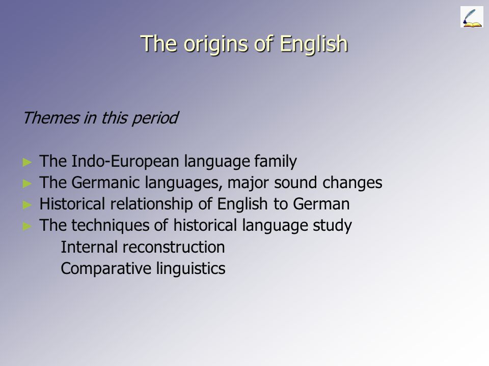 The origins of English Themes in this period