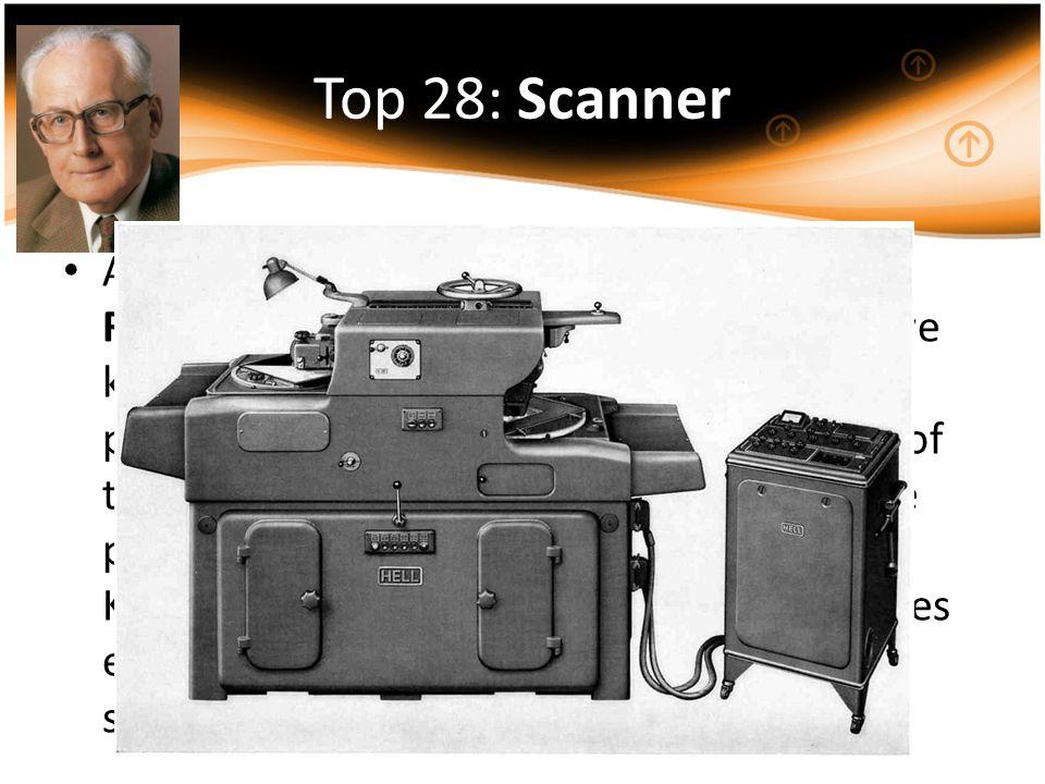 Top 28: Scanner