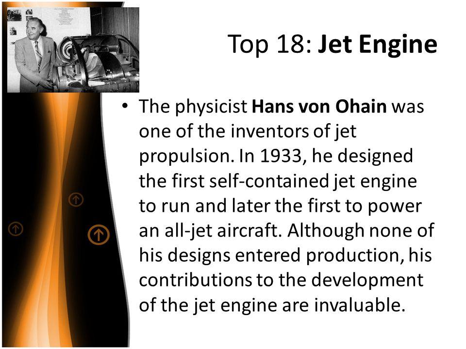 Top 18: Jet Engine