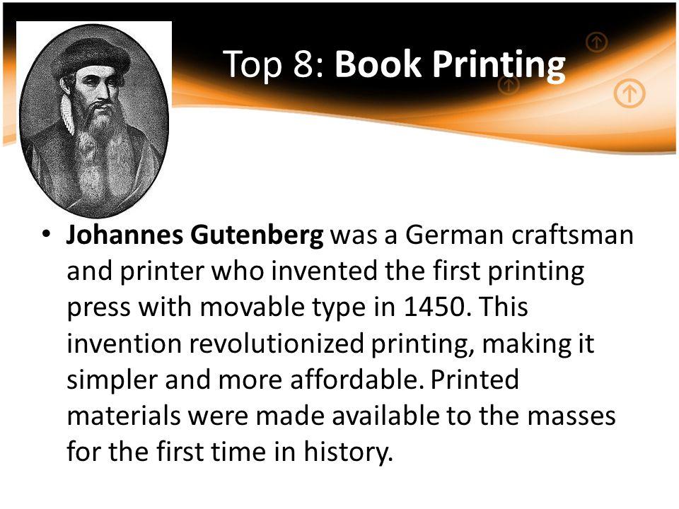 Top 8: Book Printing