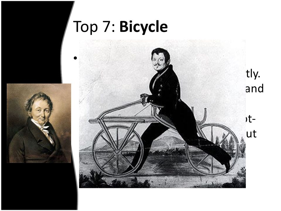Top 7: Bicycle
