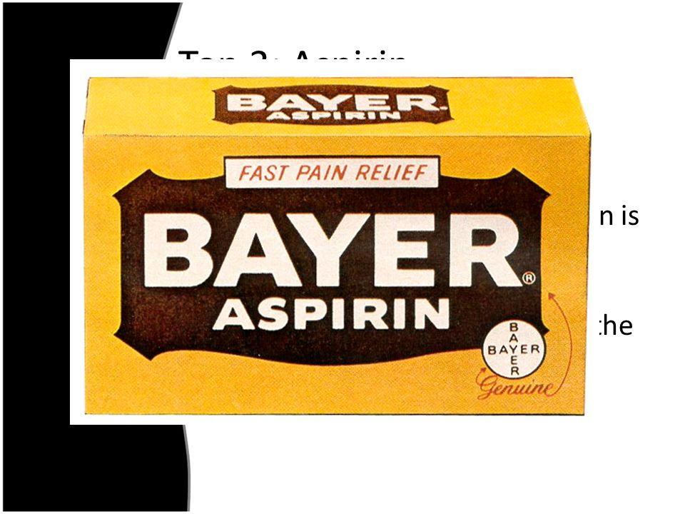 Top 3: Aspirin