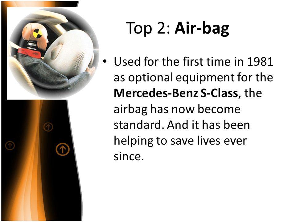 Top 2: Air-bag