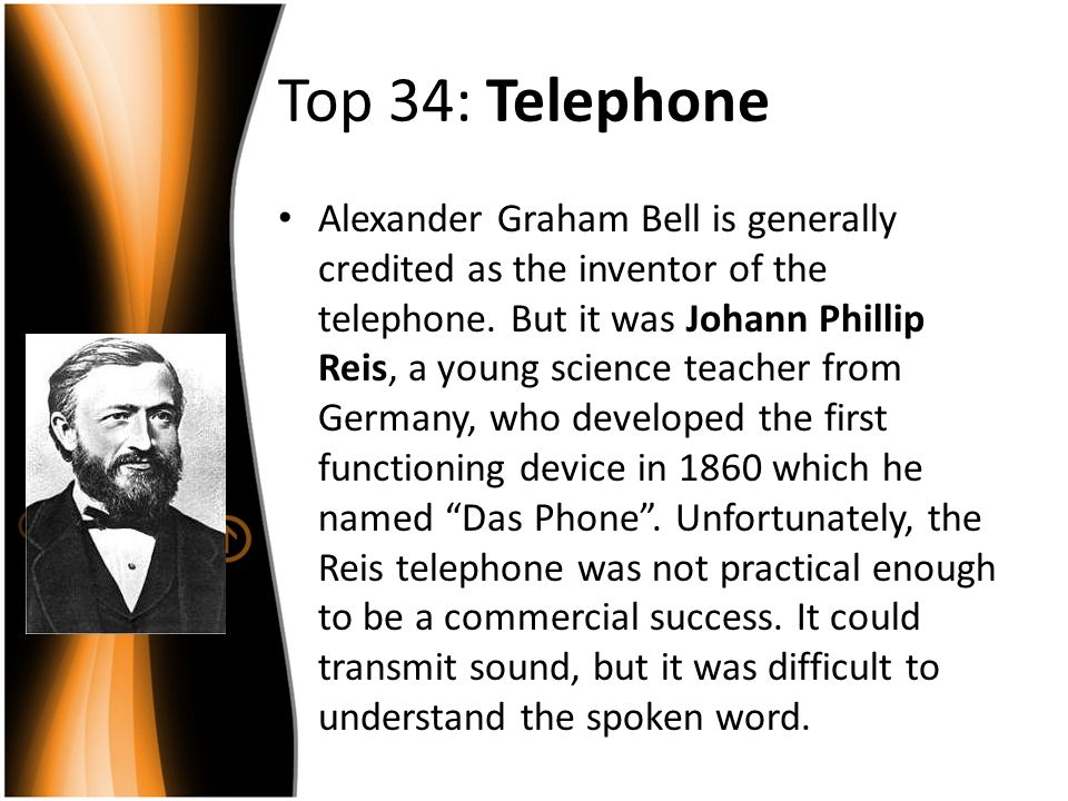 Top 34: Telephone
