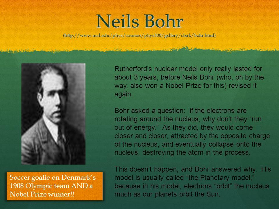 Neils Bohr (http://www. usd