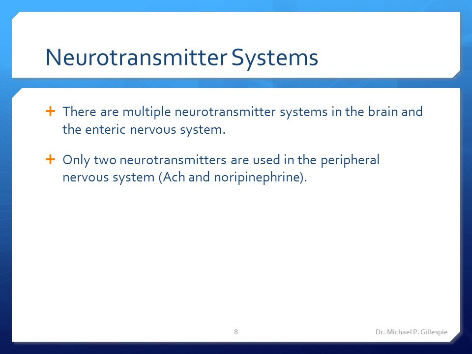 Neurotransmitter Systems
