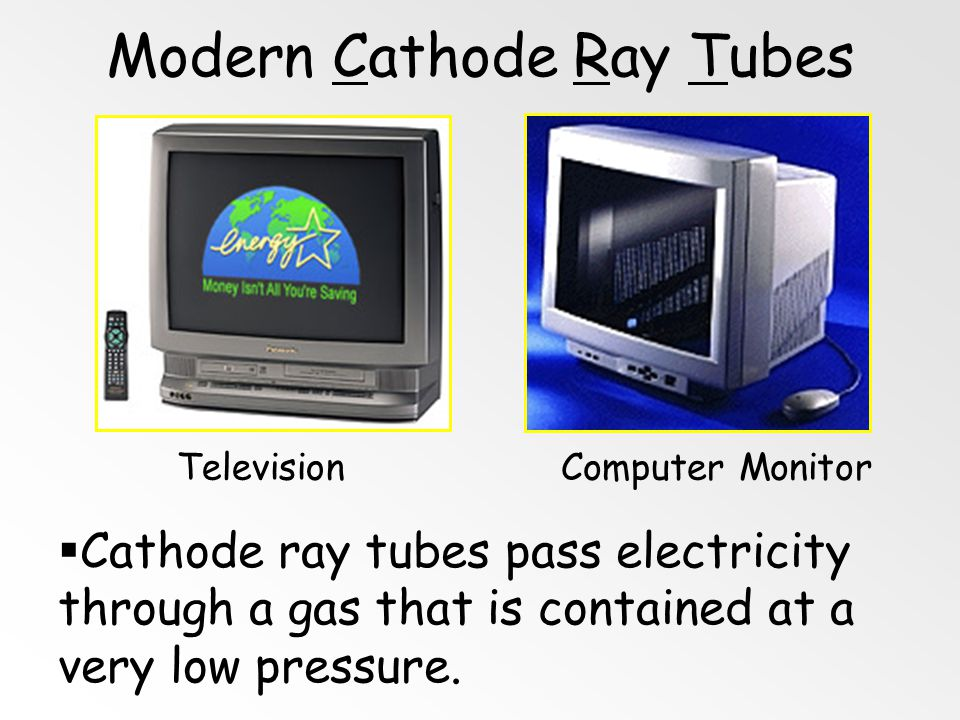 Modern Cathode Ray Tubes