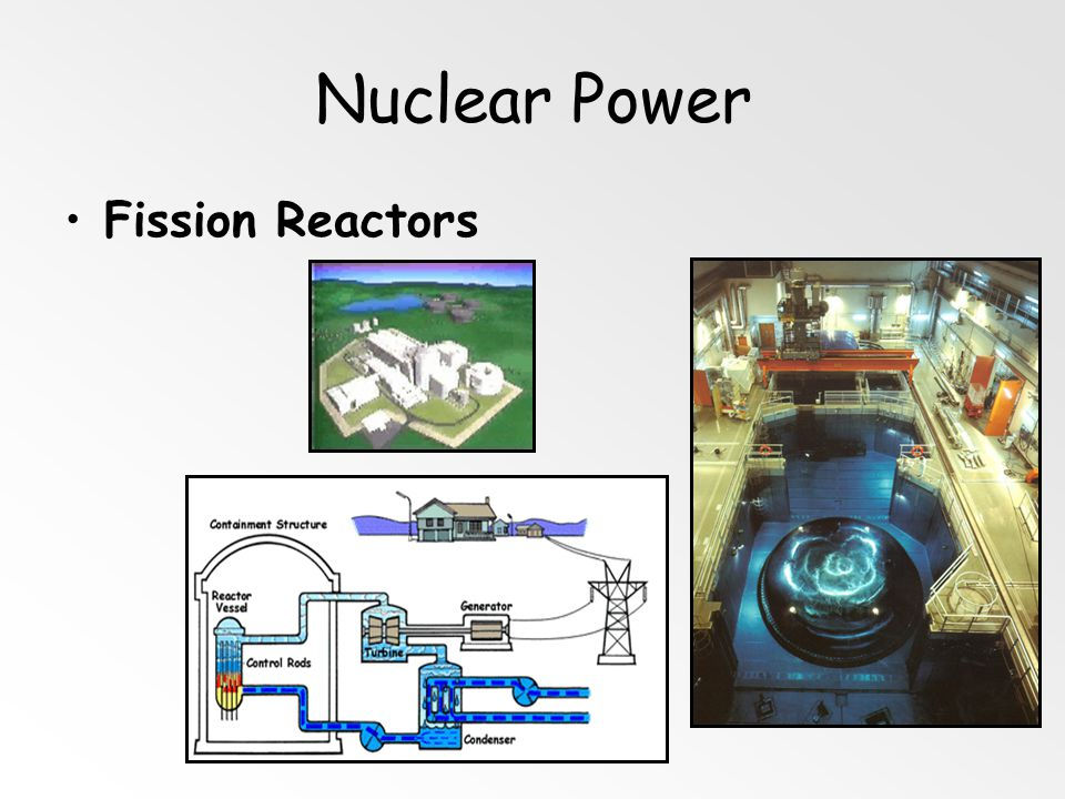 Nuclear Power Fission Reactors