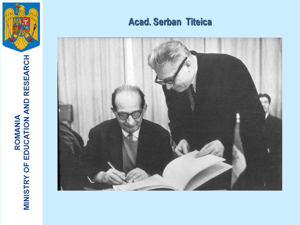Acad. Serban Titeica