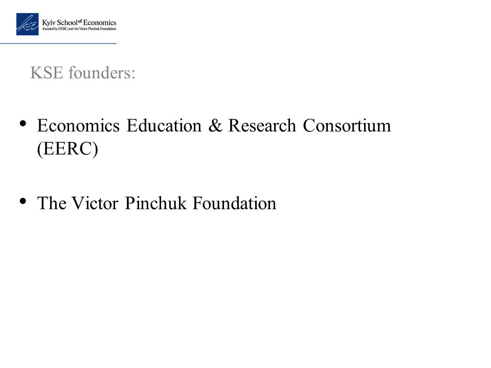 Economics Education & Research Consortium (EERC)