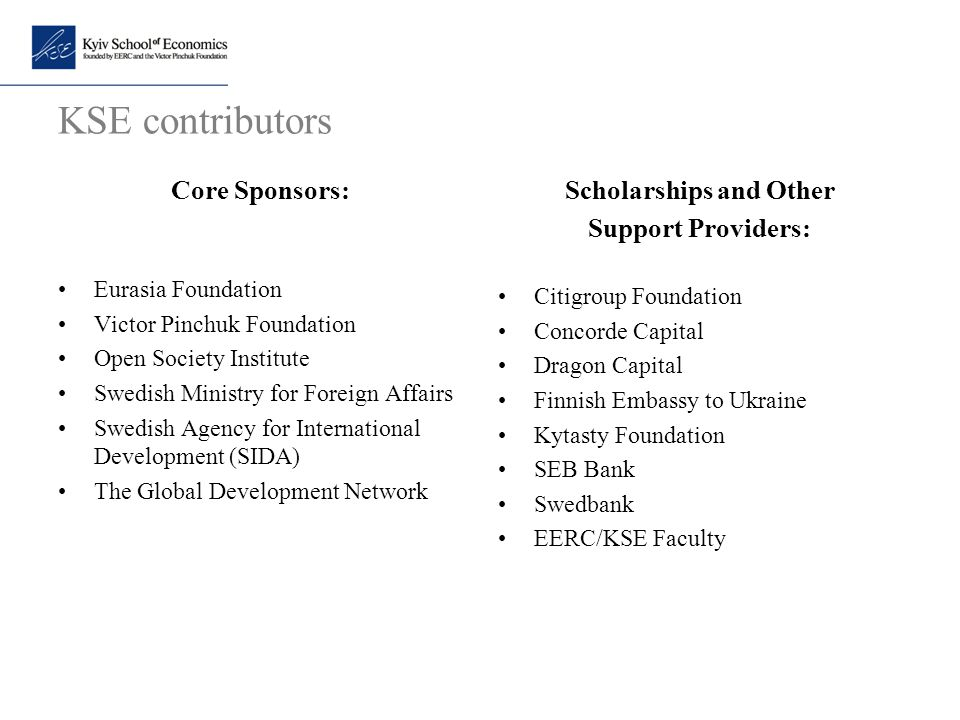 Scholarships and Other
