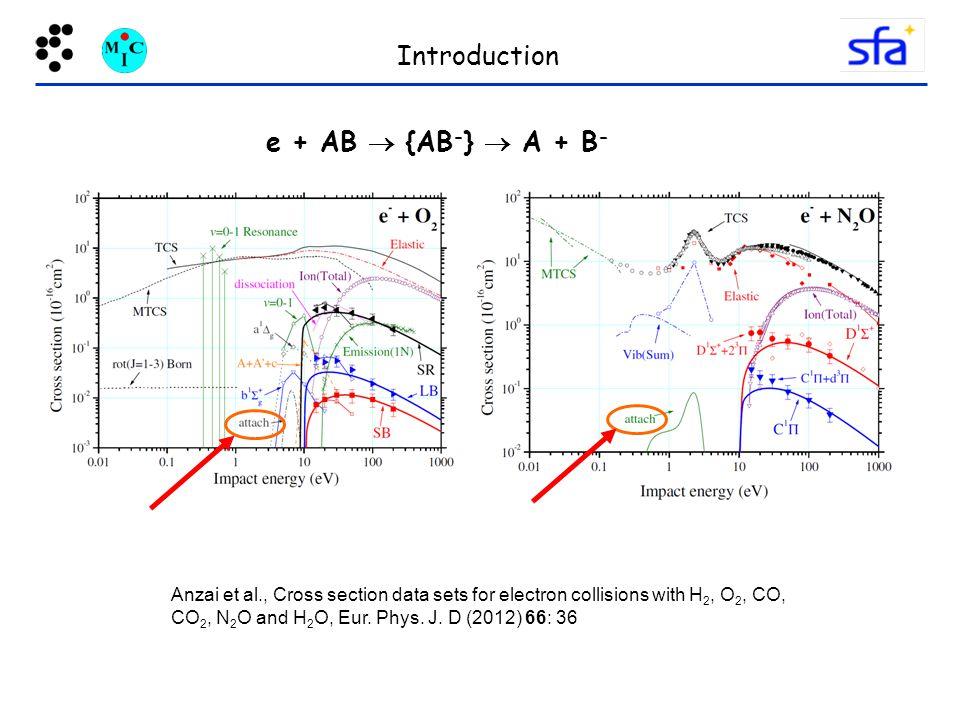 Introduction e + AB  {AB-}  A + B-