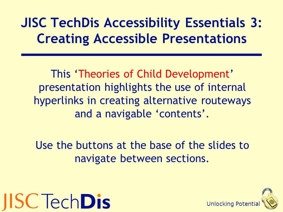 JISC TechDis Accessibility Essentials 3: Creating Accessible Presentations