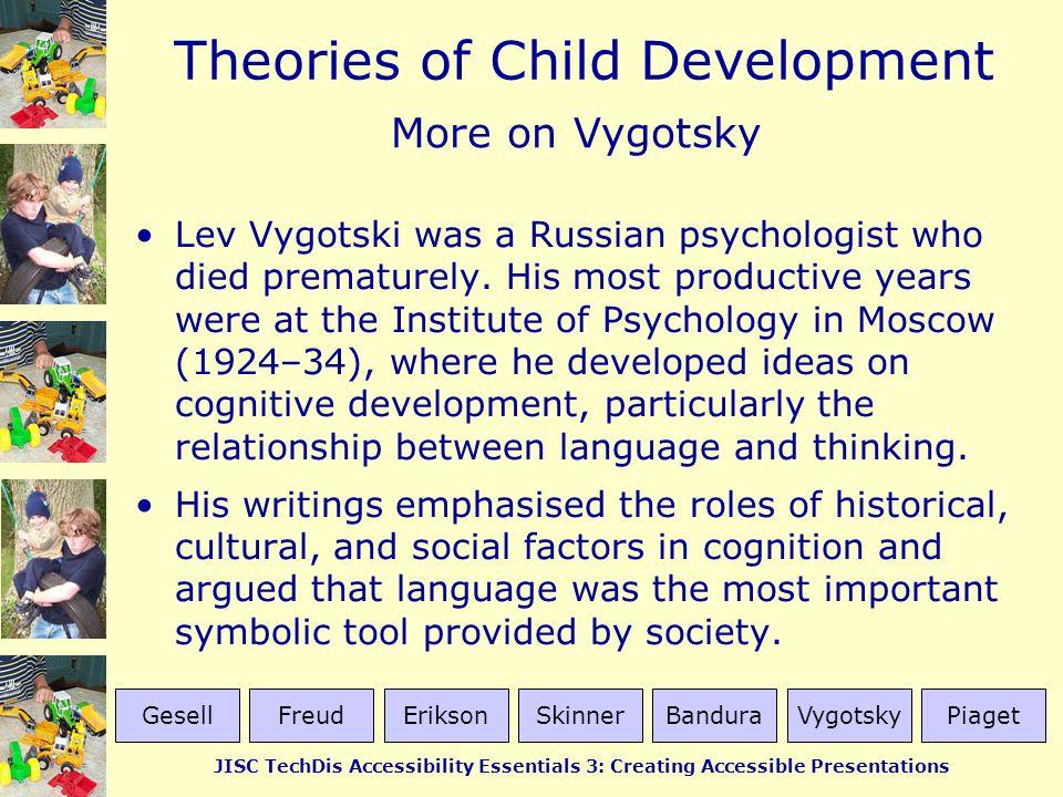 More on Vygotsky