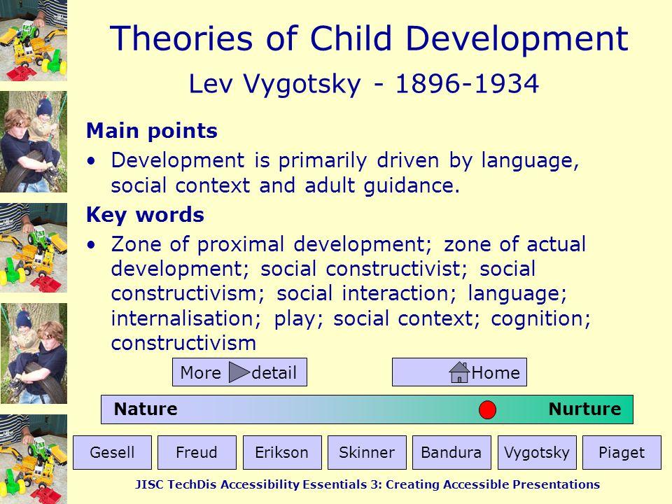 Lev Vygotsky - 1896-1934 Main points