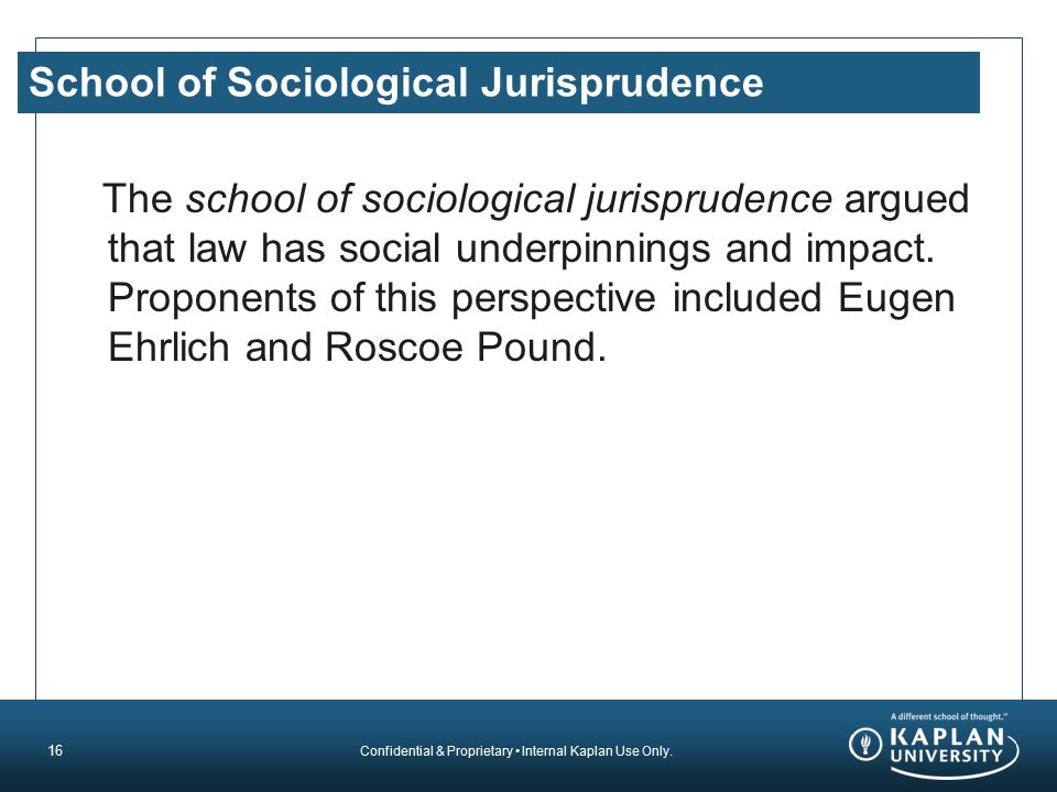 School of Sociological Jurisprudence