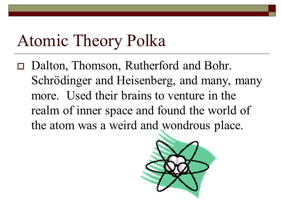 Atomic Theory Polka