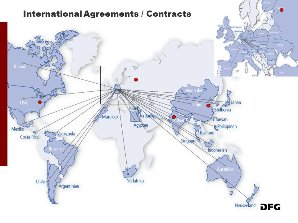 International Agreements / Contracts