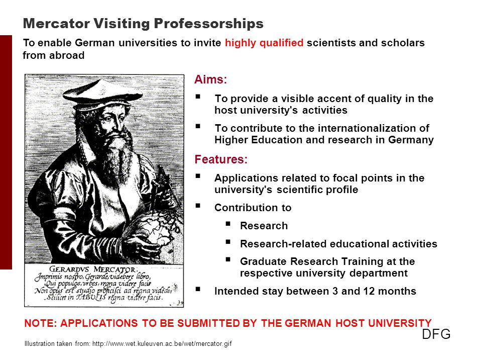 Mercator Visiting Professorships