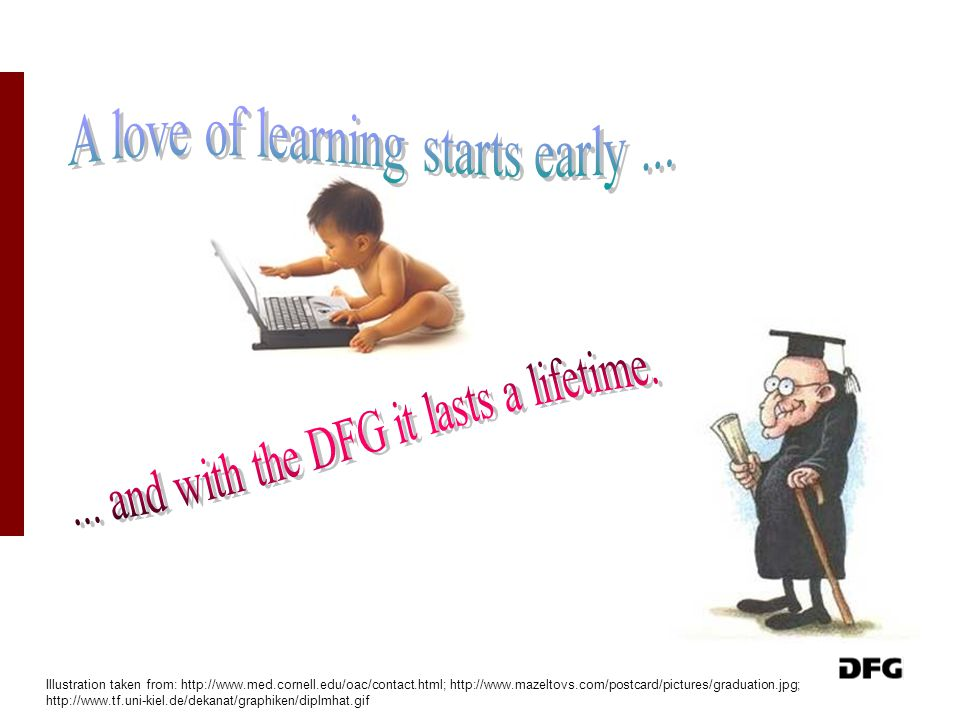 A love of learning starts early ...