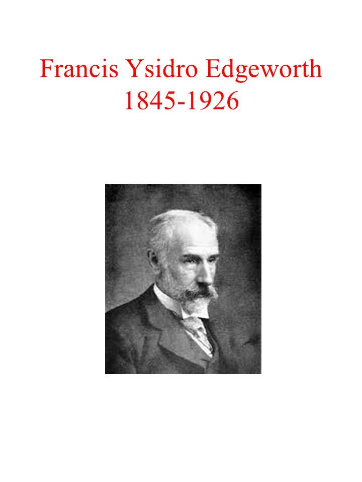 Francis Ysidro Edgeworth 1845-1926