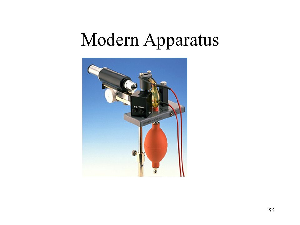 Modern Apparatus