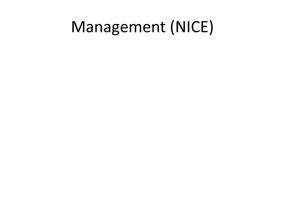 Management (NICE)