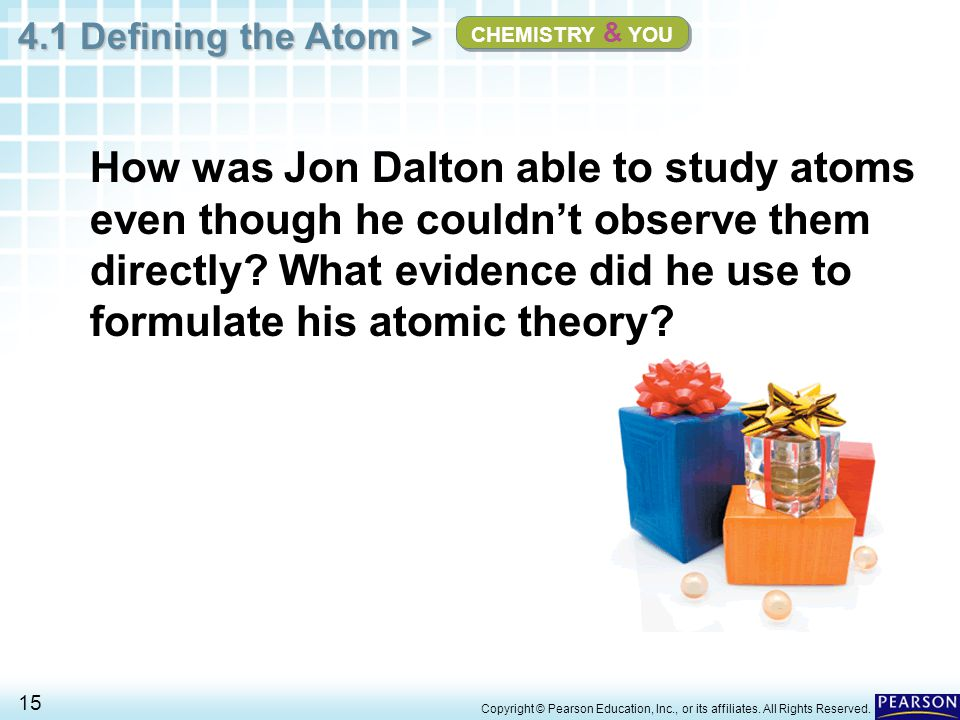 CHEMISTRY & YOU