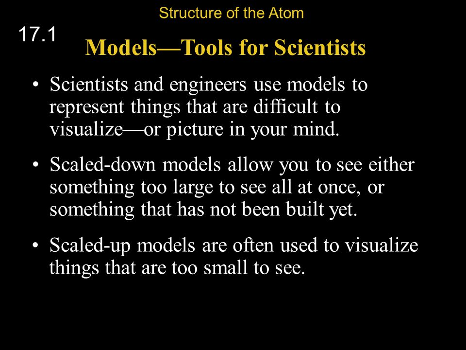 Models—Tools for Scientists