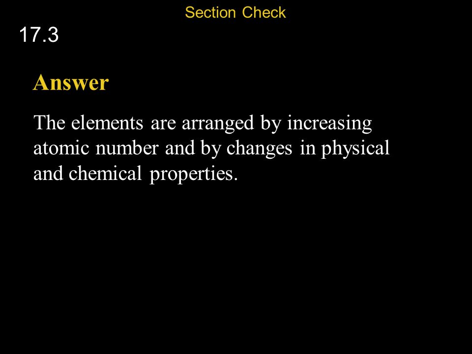 Section Check 17.3. Answer.