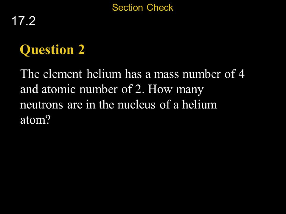 Section Check 17.2. Question 2.