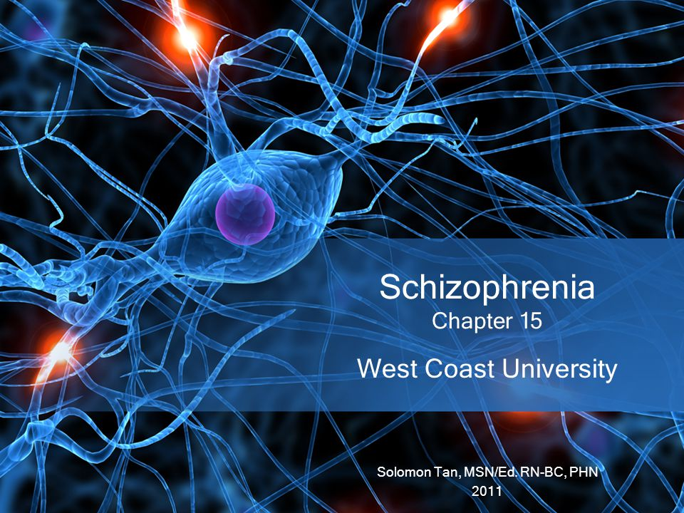 Schizophrenia Chapter 15