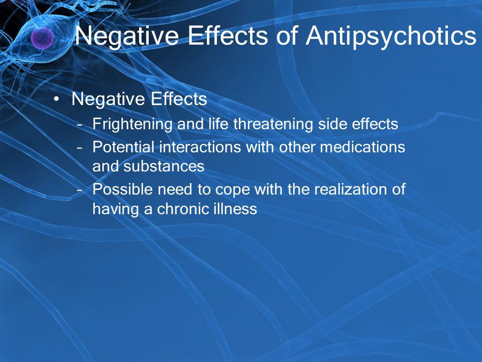 Negative Effects of Antipsychotics