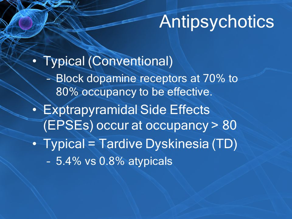 Antipsychotics Typical (Conventional)