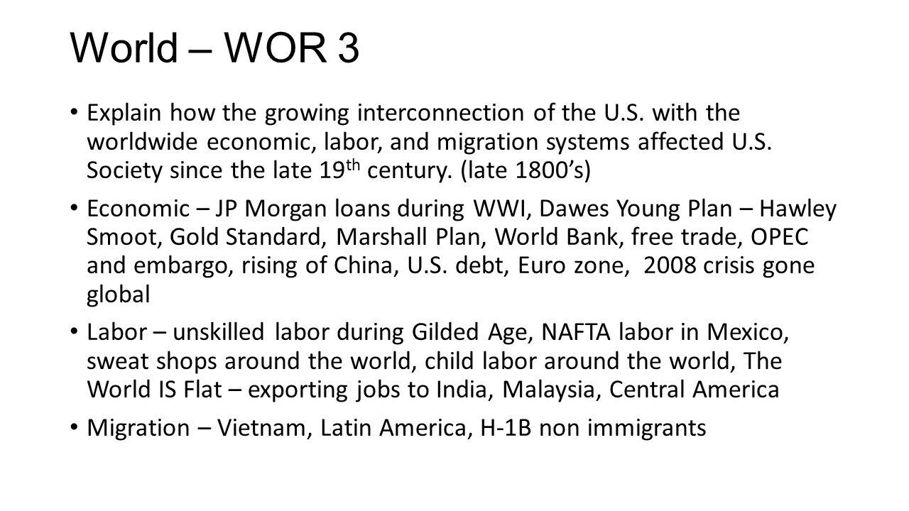 World – WOR 3
