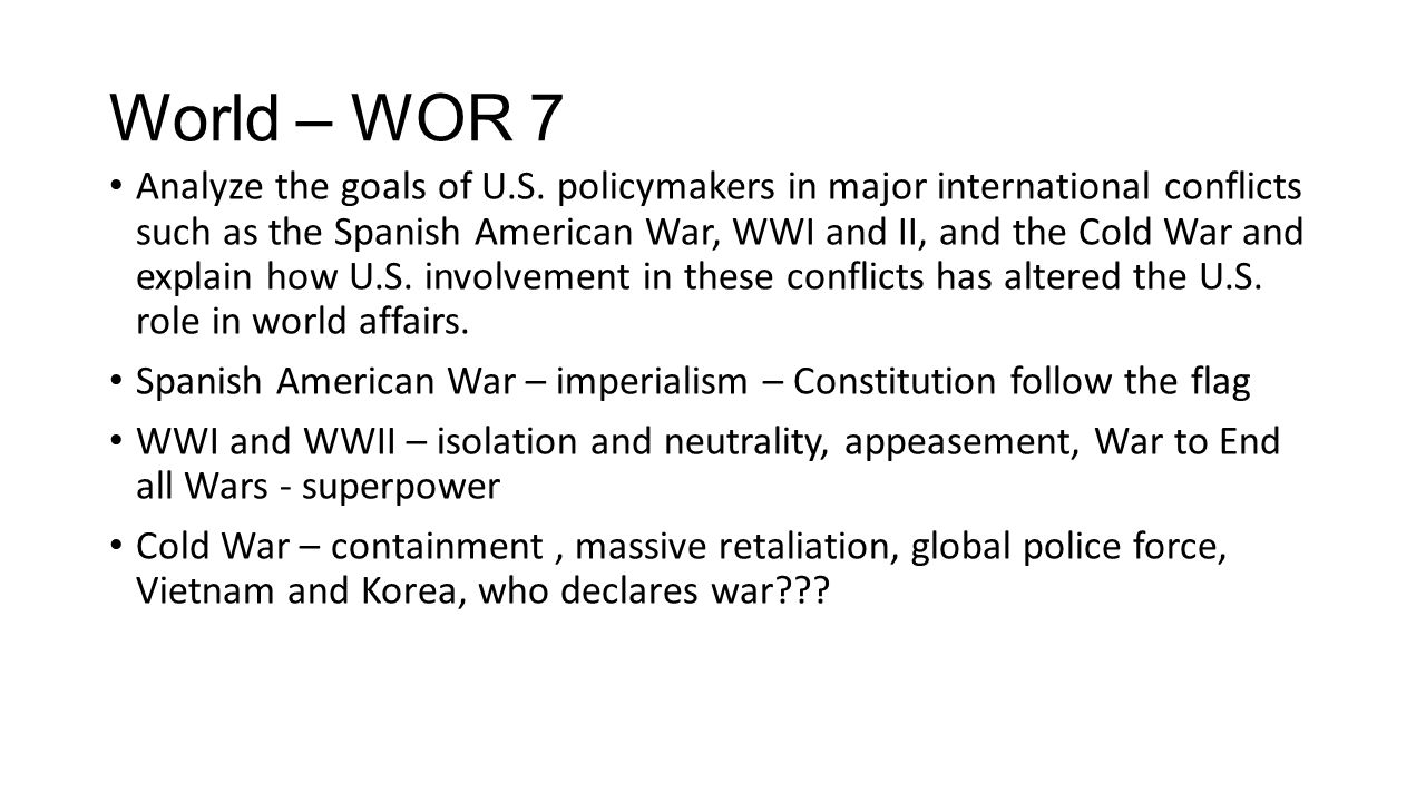 World – WOR 7