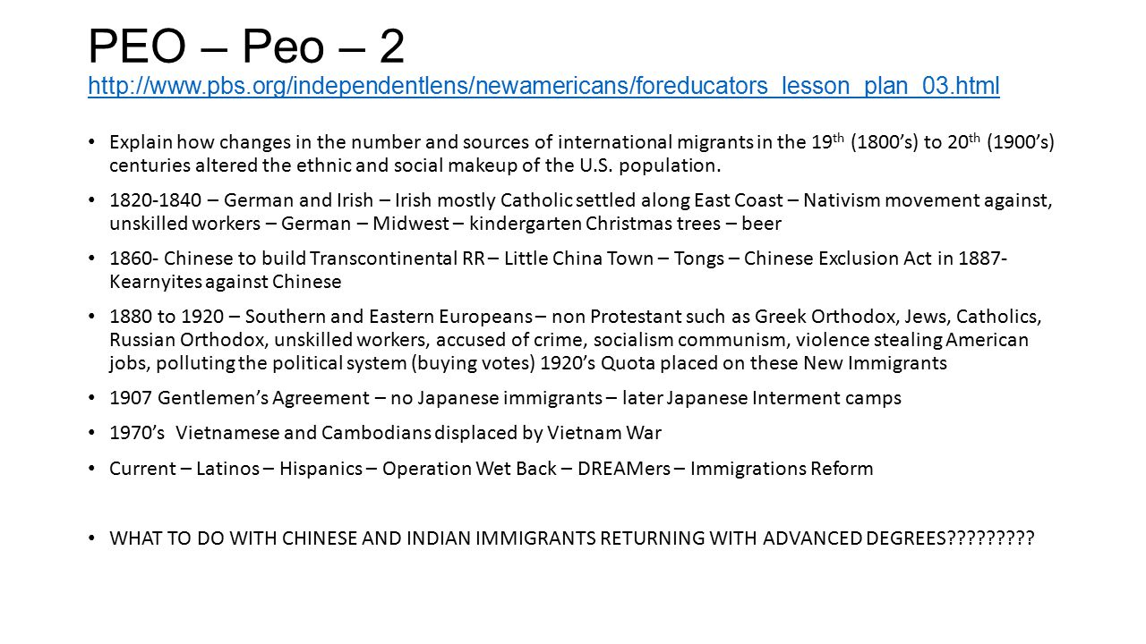 PEO – Peo – 2 http://www. pbs