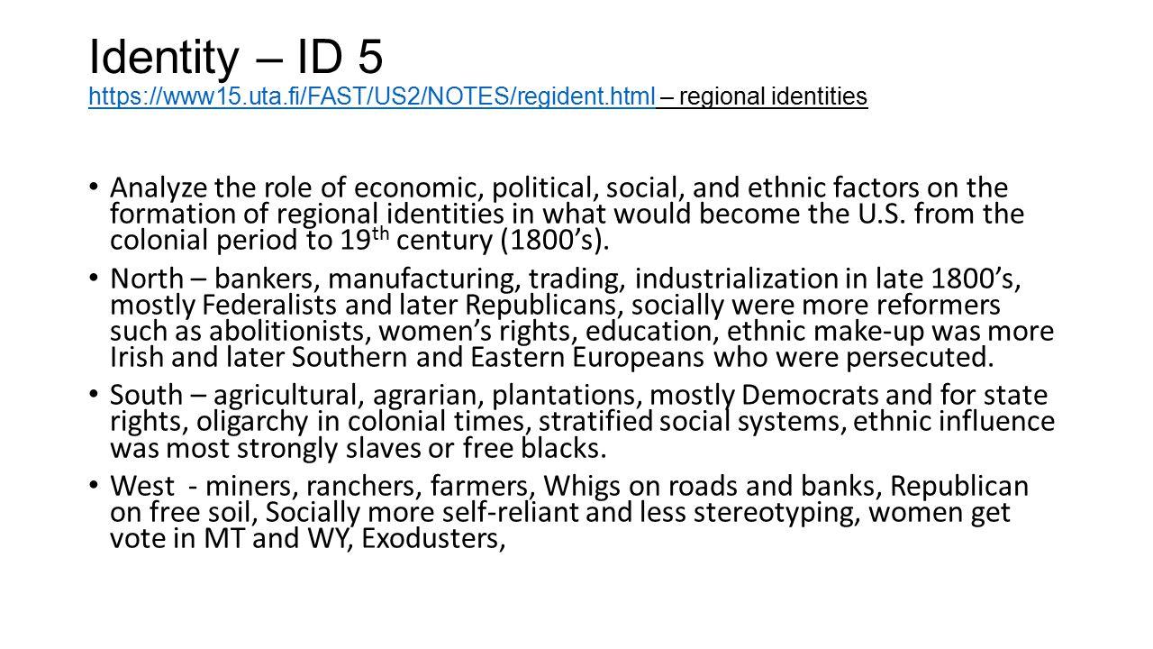 Identity – ID 5 https://www15. uta. fi/FAST/US2/NOTES/regident