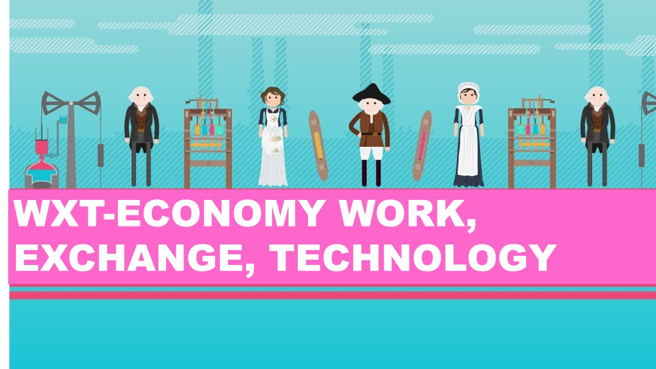 WXT-ECONOMY WORK, EXCHANGE, TECHNOLOGY