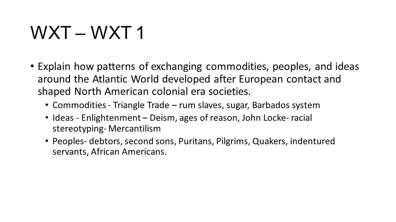 WXT – WXT 1