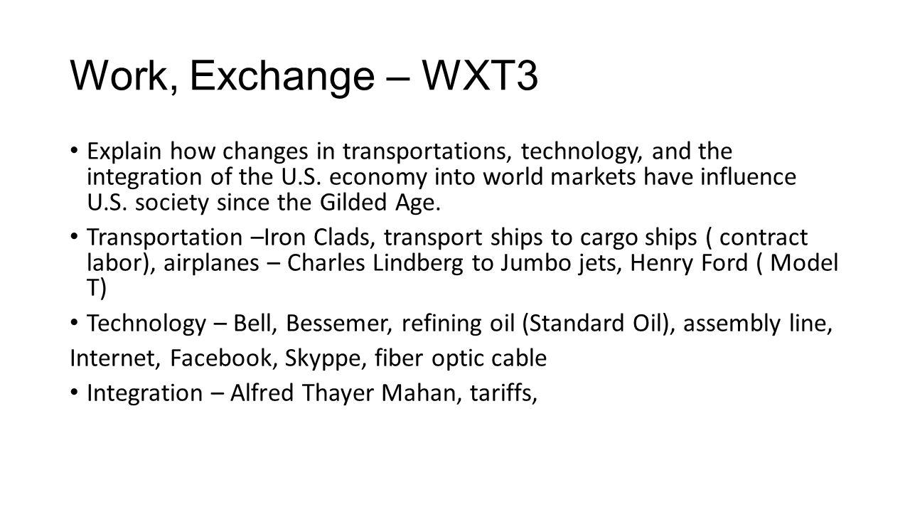 Work, Exchange – WXT3