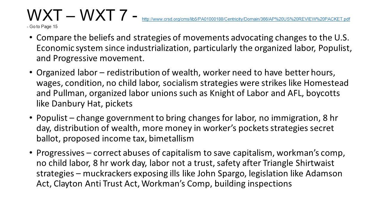 WXT – WXT 7 - http://www. crsd