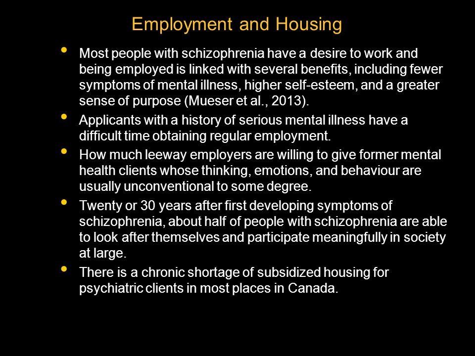 Employment and Housing