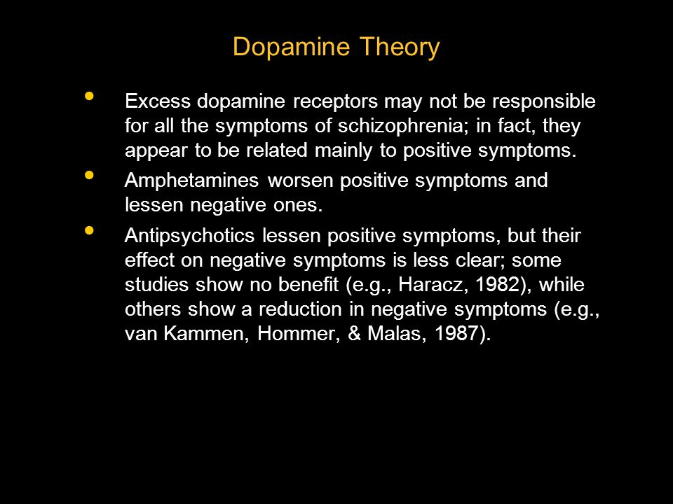 Dopamine Theory
