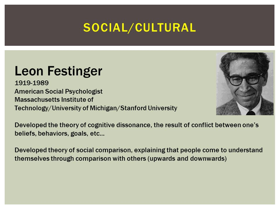 social psychology social comparison Journal ti personality and social psychology 1970, vol 16, no 1,'148-156 social comparison, self-consistency, and the concept of self stan morse.