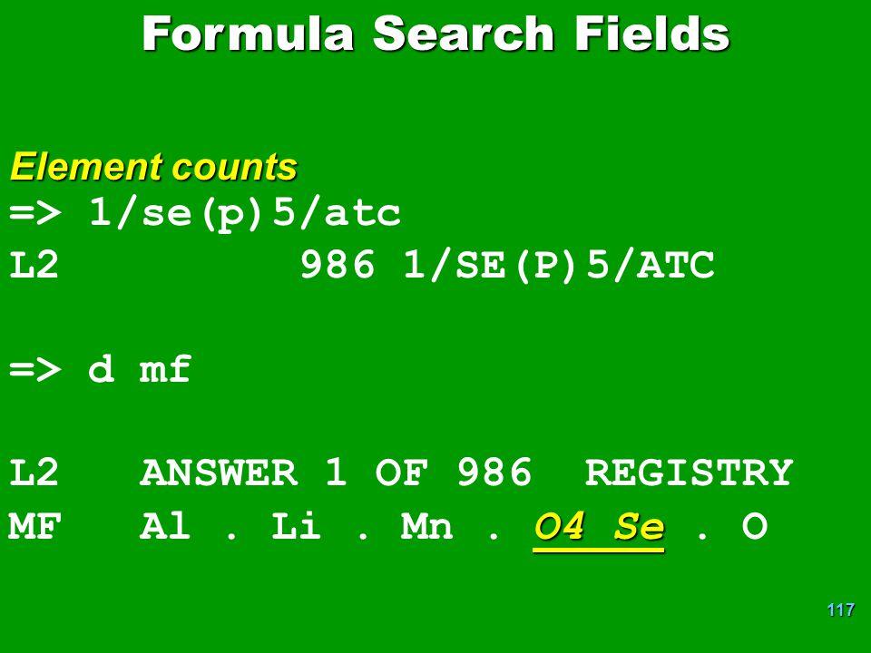 Formula Search Fields => 1/se(p)5/atc L2 986 1/SE(P)5/ATC