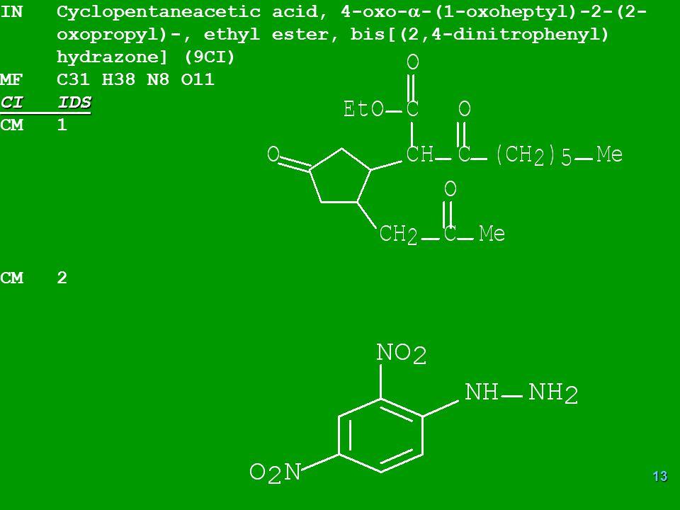 IN Cyclopentaneacetic acid, 4-oxo--(1-oxoheptyl)-2-(2-