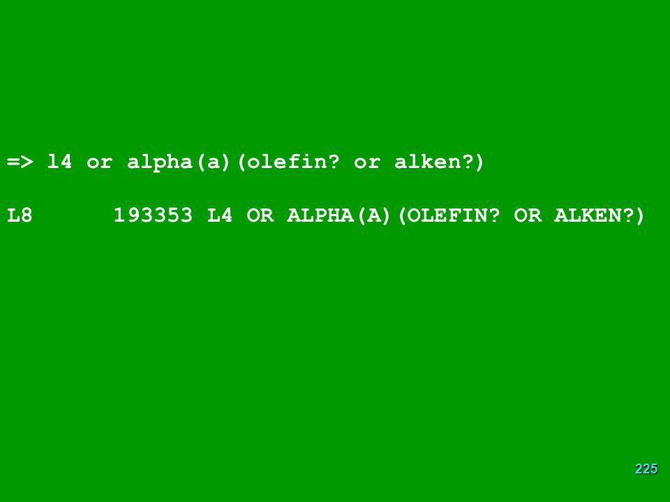 => l4 or alpha(a)(olefin or alken )