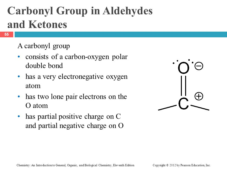Carbonyl Group in Aldehydes and Ketones