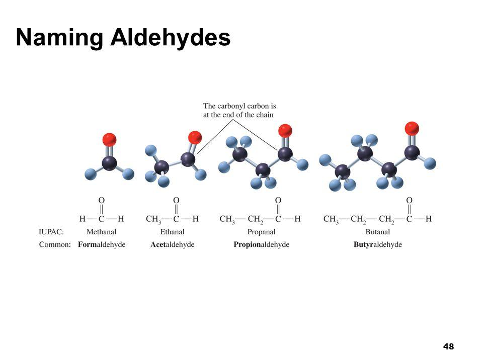 Naming Aldehydes 48